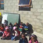 Lutho Educare new classroom outside